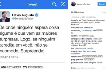 Empreendedores de Sucesso: Flávio Augusto - Geração de Valor