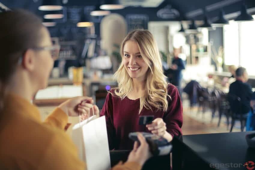 máquina de cartão de crédito de débito