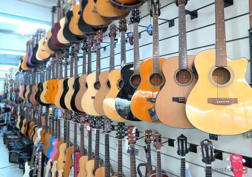 Como montar uma loja de instrumentos musicais?