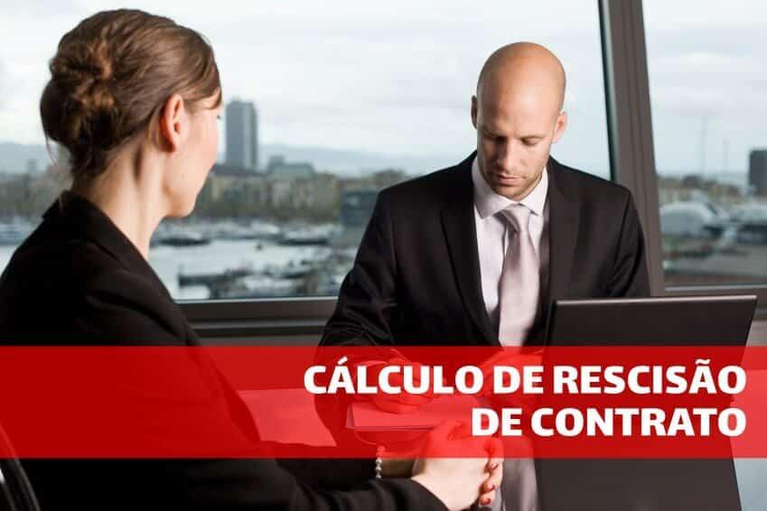 Cálculo de rescisão de contrato