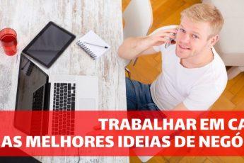 Trabalhar em casa: as melhores ideias de negócio para o home office
