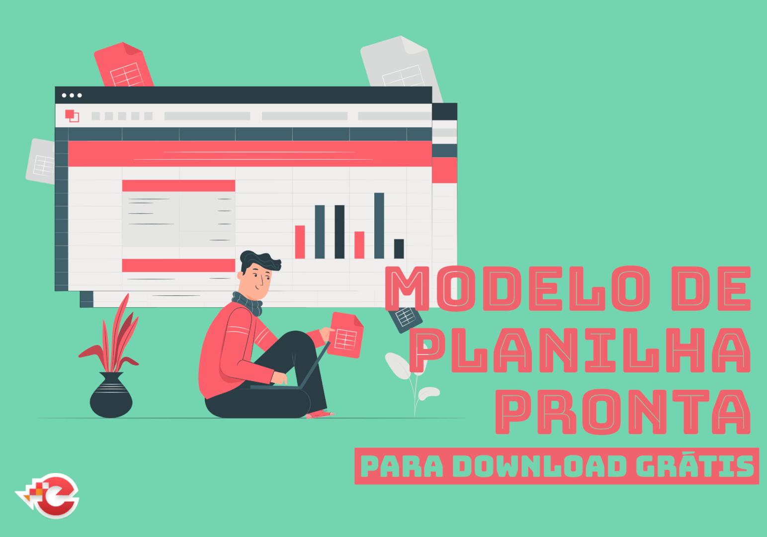 Modelo de planilha pronta - Download grátis