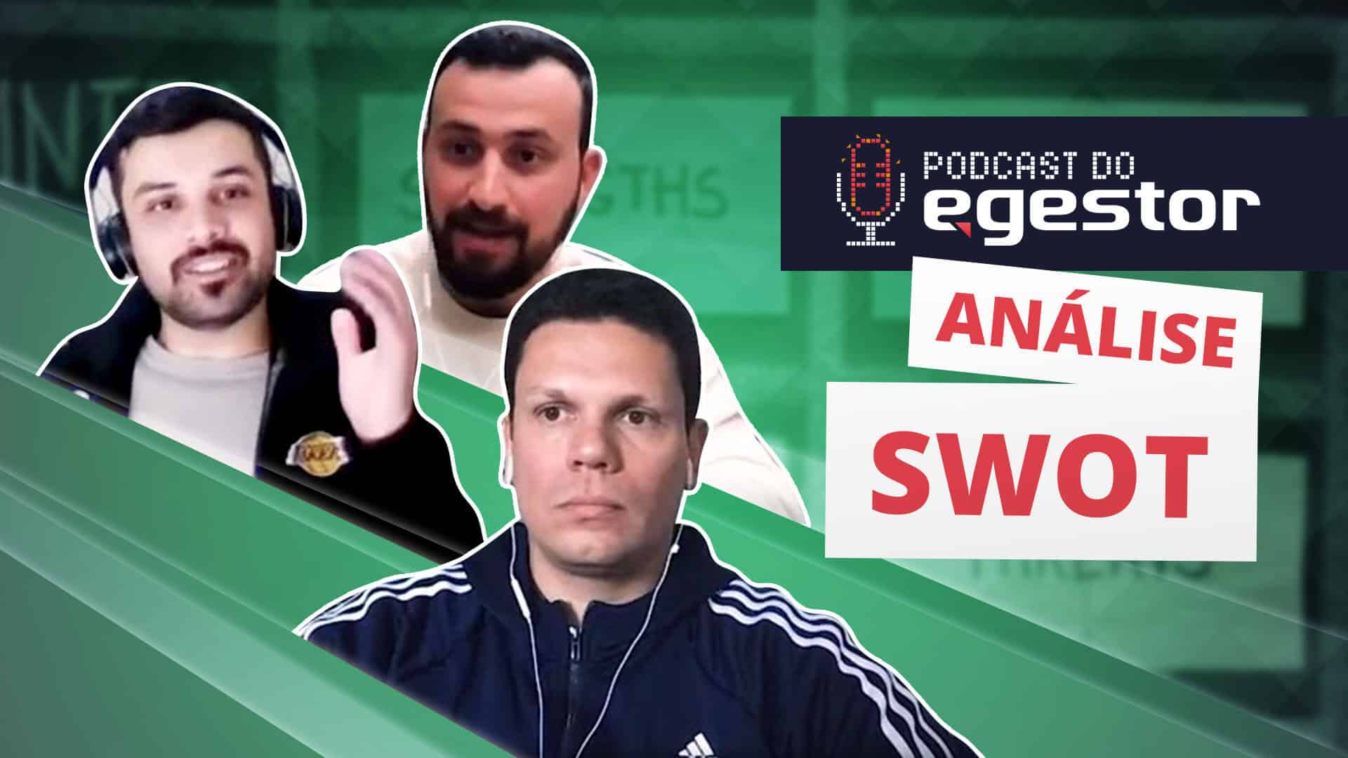 Análise SWOT - PodCast do eGestor